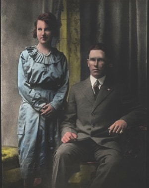 Angus Murchison and Wife