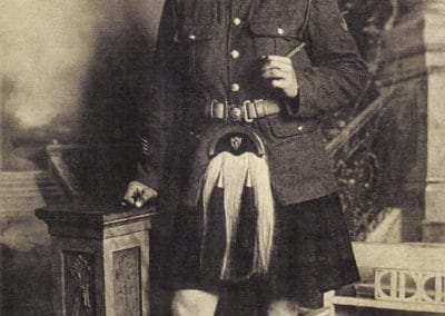 Angus Murchison in Highland Dress