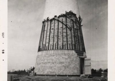 Shingling the Lighthouse 1958